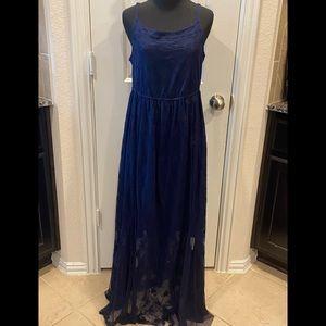 NWT Torrid Lace Maxi Dress 0x